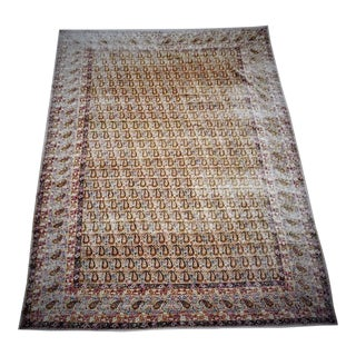 """1940's Vintage Genuine Hand Knotted Persian Rug-10'x15'8"""" For Sale"""