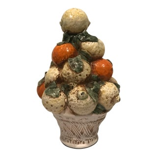 Italian Majolica Topiary