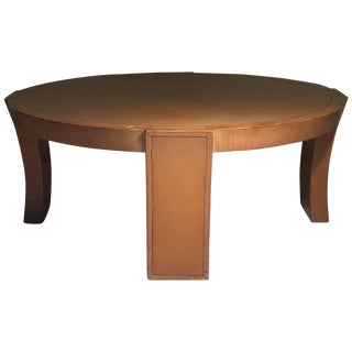 Scarce Vintage Coffee Table Form by Karpen of California For Sale
