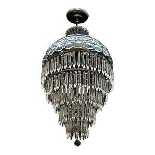 1940s Crystal Light For Sale