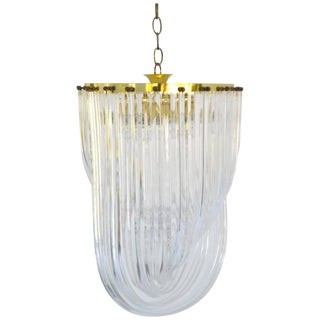 Sculptural Midcentury Chandelier For Sale