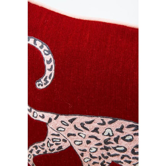 """The Leopard Ruby is a whimsical design based on some of Luke's playful sketches. Each cushion is carefully handcrafted in..."