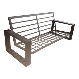 Custom Black Modern Patio Sofa For Sale