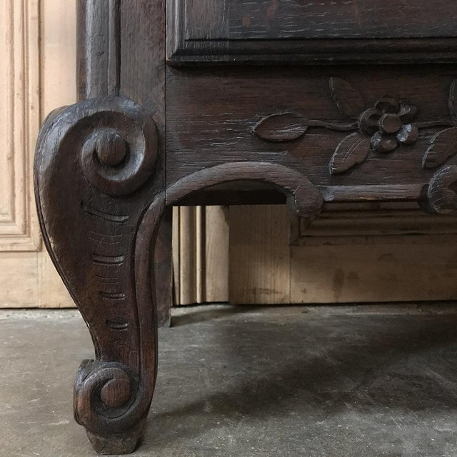 Metal 18th Century Country French Provincial Vitrine For Sale - Image 7 of 13