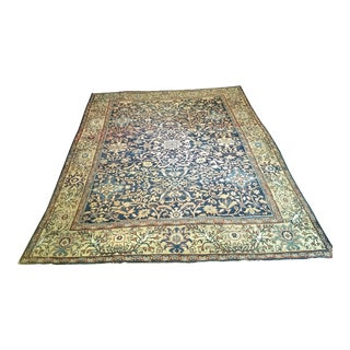Early 1900s Persian Mahal Sultanabad Rug- 8′6″ × 12′2″ For Sale