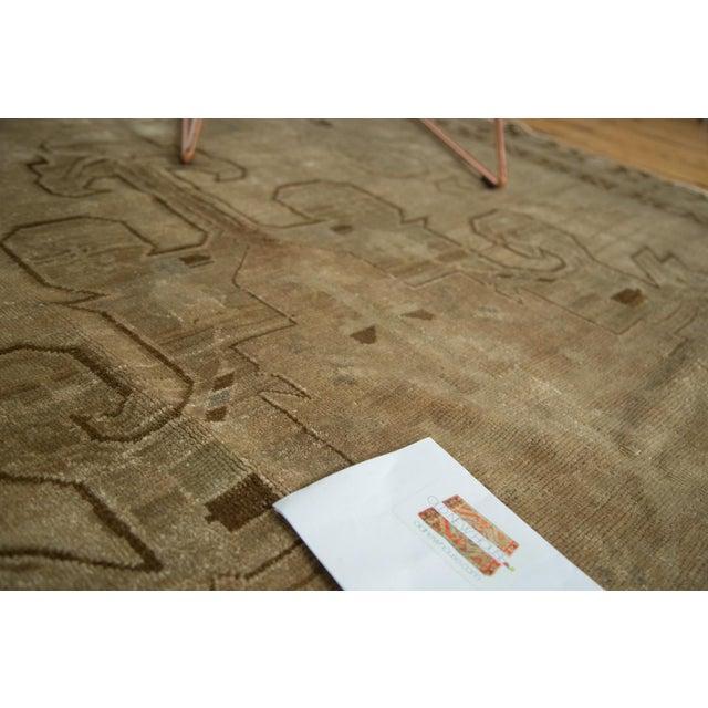 "Vintage Oushak Carpet - 5'8"" X 8'3"" - Image 9 of 10"