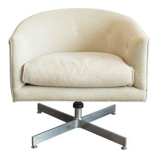 Milo Baughman for Thayer Coggin X-Base Swivel Chair