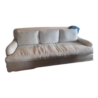 Restoration Hardware Slipcover Couch For Sale