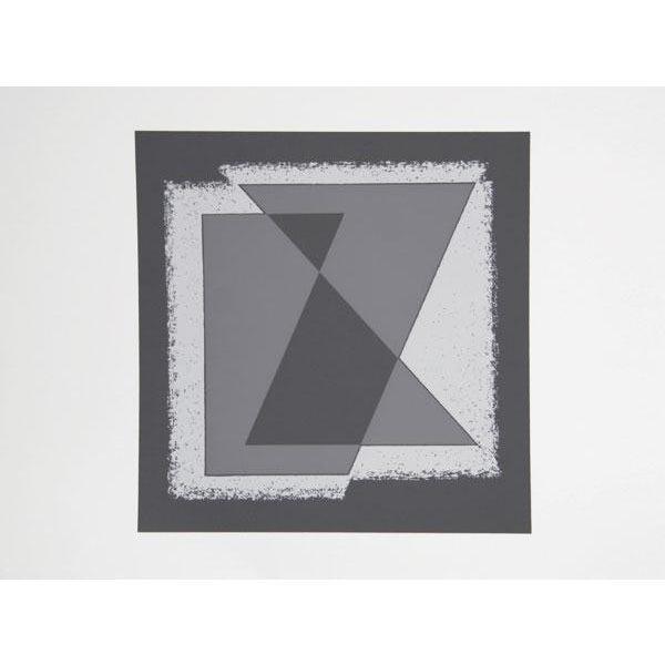 Abstract Expressionism Josef Albers - Portfolio 2, Folder 30, Image 1 Framed Silkscreen For Sale - Image 3 of 4