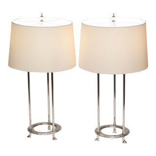 Visual Comfort Thomas Obrien Jayson Table Lamps - A Pair For Sale