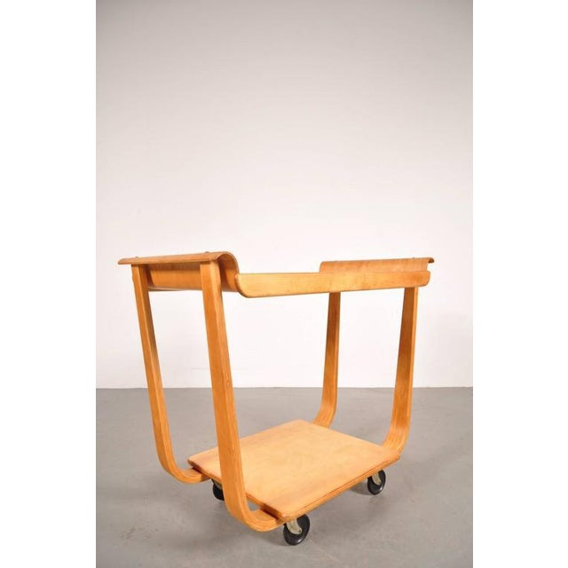 PB01 Trolley by Cees Braakman for Pastoe, Netherlands, circa 1950 - Image 2 of 6