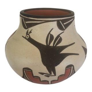 Elizabeth Medina Zia Pueblo Pottery Bowl For Sale