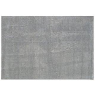 Stark Studio Rugs Contemporary Ebbe & Flow Silk Wool Rug - 6′1″ × 8′11″ For Sale