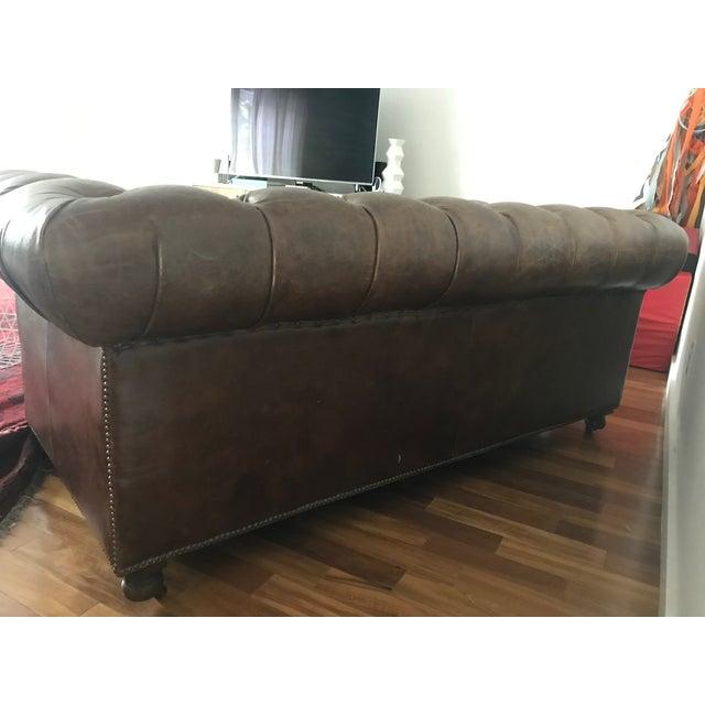 Modern Restoration Hardware Chesterfield Sofa | Chairish