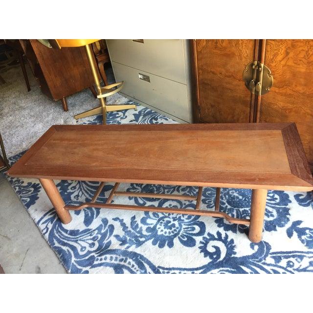 Heritage Henredon Mahogany Coffee Table For Sale - Image 12 of 12