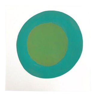 """Original Dot Painting by Neicy Frey """"Pandan"""" For Sale"""