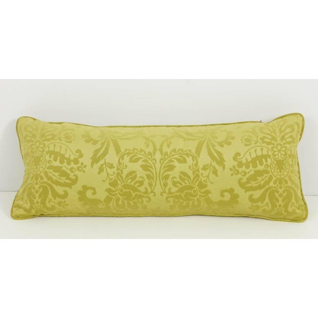 Long Damask Cushion For Sale In New York - Image 6 of 7