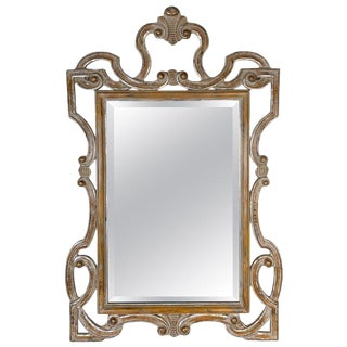 La Barge Mid Century Hollywood Regency Style Mirror For Sale