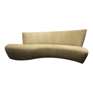 Large Sculptural Bilbao Sofa by Vladimir Kagan For Sale