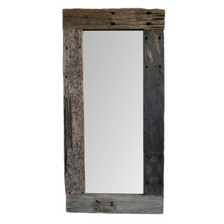 Rustic Railroad Mirror