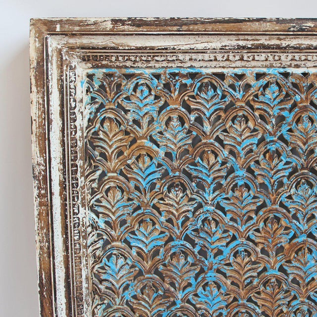 Asian Architectural Jali Panel For Sale - Image 3 of 4