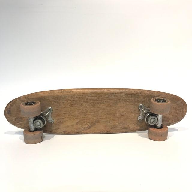 Vintage 1970's Wooden Skateboard - Image 4 of 6