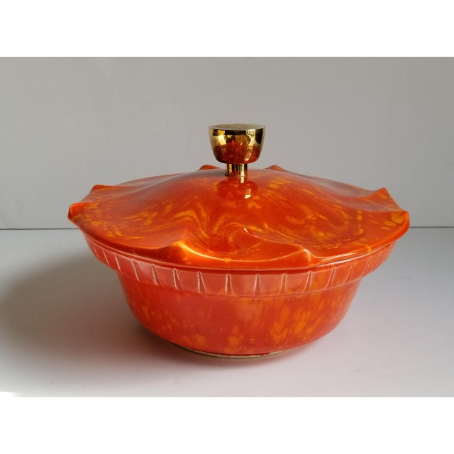 Mid-Century Modern California Pottery Casserole Dish For Sale - Image 12 of 12