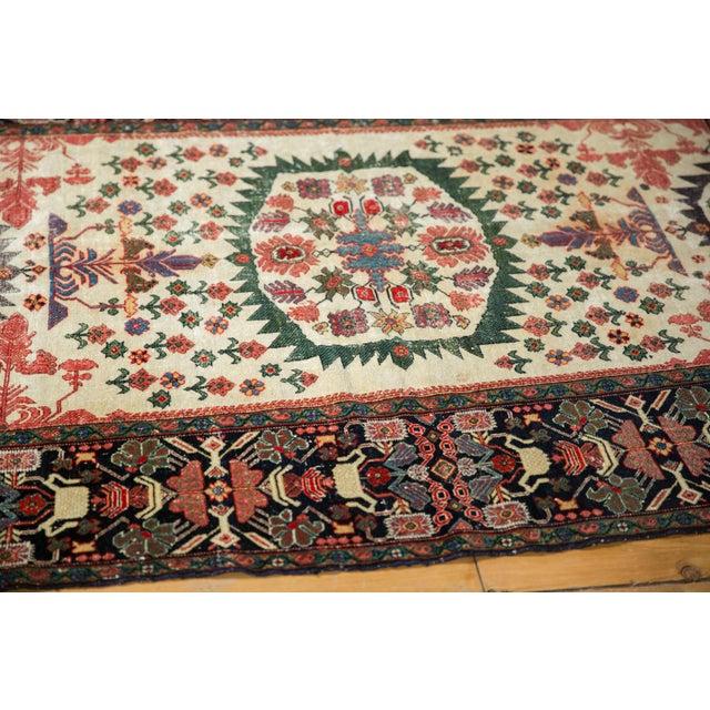 "Textile Antique Farahan Sarouk Rug - 4'3"" X 6'1"" For Sale - Image 7 of 13"