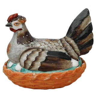 Staffordshire Hen on Nest Tureen For Sale