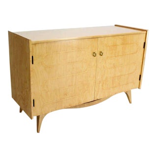 Mid-Century Modern Edmond Spence Blonde Swedish Cabinet Dresser For Sale