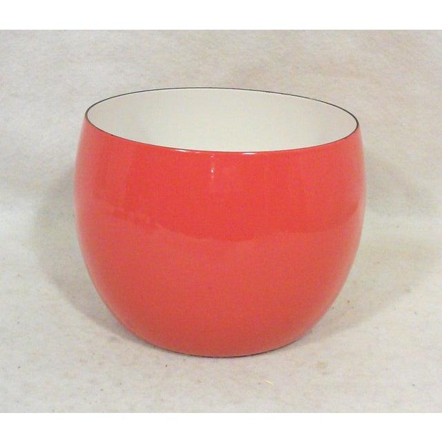 Dansk IHQ Red Enamel Bowl - Image 2 of 7