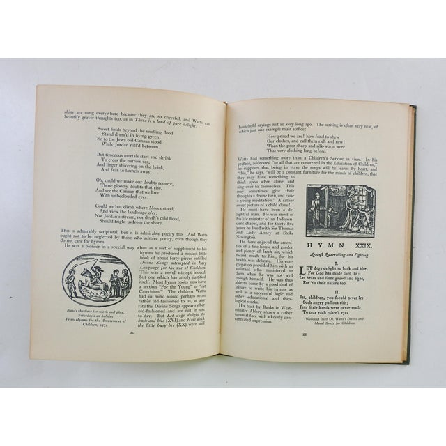 Green English Hymns & Hymn Writers Book For Sale - Image 8 of 9