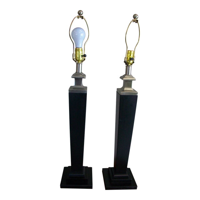 Tyndale Contemporary Lamps - a Pair - Image 1 of 6