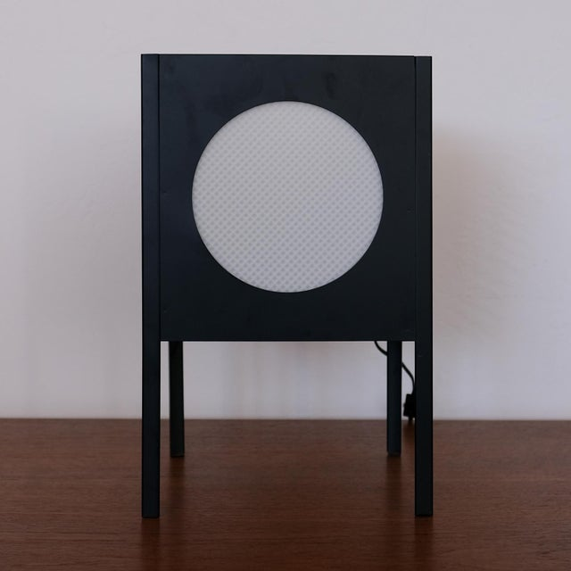 Metal Cube Lamp, 1960s For Sale - Image 4 of 8