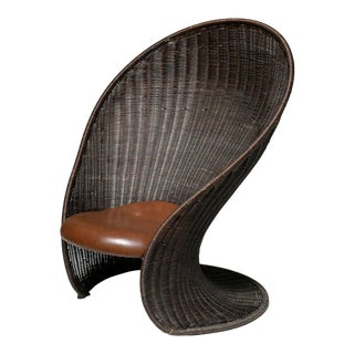 Foglia Lounge Chair by Travasa for Bonacina For Sale
