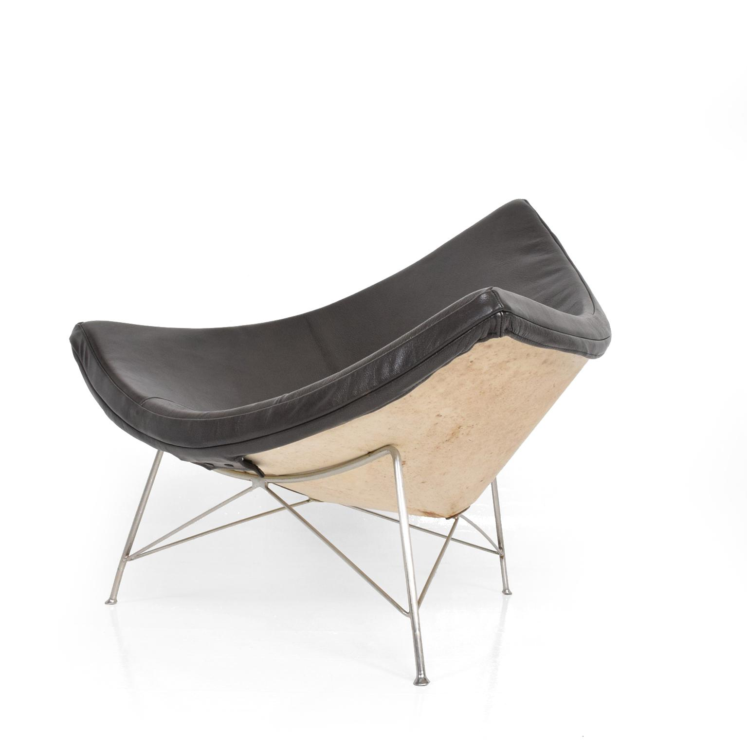 Marvelous Early Coconut Lounge Chairs By George Nelson For Herman Miller   Image 11  Of 11