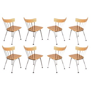 Woodard Dining Chairs - Set of 8 For Sale