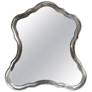 19th Century Sterling Silver Mirror by Josef Carl Klinkosch For Sale