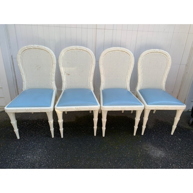 Hollywood Regency Serge Roche Style Dining Chairs - Set of 6 For Sale - Image 3 of 13