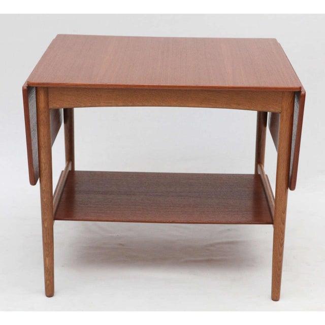 Hans Wegner Drop Leaf Side Table - Image 2 of 9