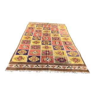 Indian Rajasthani Rug-8′1″ × 12′10″ For Sale