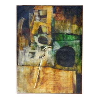 Large Abstract Painting by Pat Trivigno