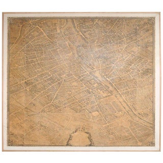 Map of Paris For Sale