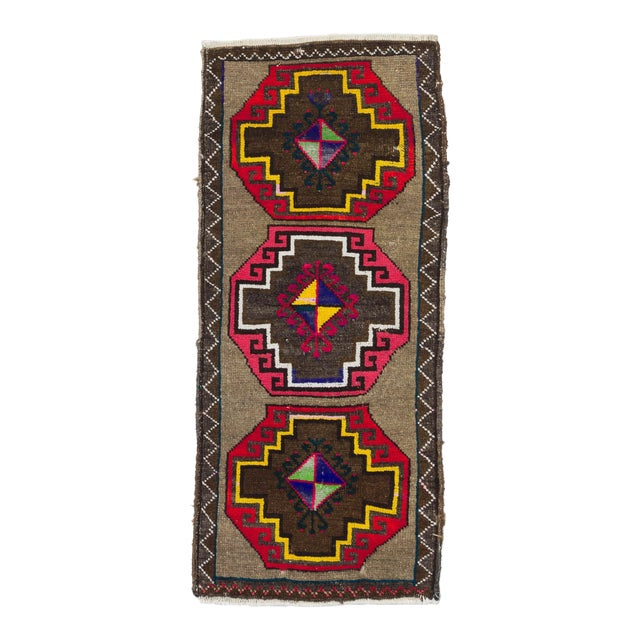 1960s Turkish Kars Rug For Sale