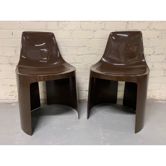 Plastic Mid-Century Overman Ab Tango Chairs - a Pair For Sale - Image 7 of 7