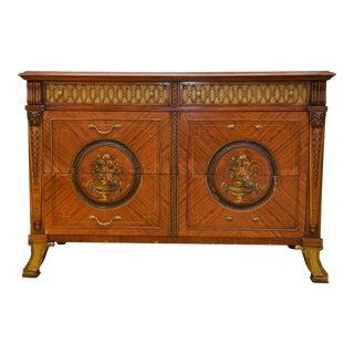 1960s Decorative Mahogany Dresser For Sale