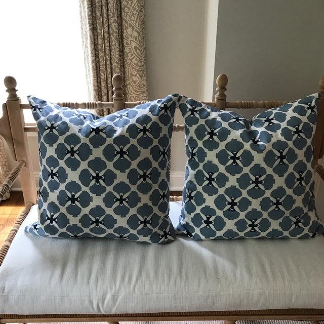 Galbraith and Paul Linen Pillows - A Pair - Image 4 of 8