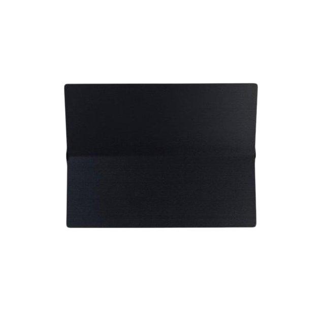 Large Charlotte Perriand 'Applique à Volet Pivotant Plié' Wall Light in Black For Sale