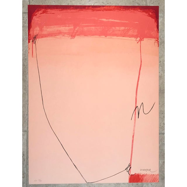 """1979 Enric Cormenzana """"Zaragoza"""" Lithograph Hand Signed & Numbered For Sale In Palm Springs - Image 6 of 6"""
