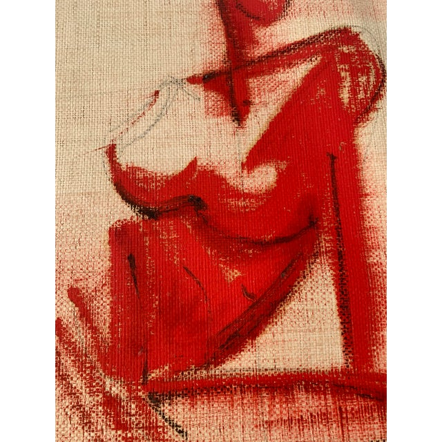Abstract Greg Lauren Painting For Sale - Image 3 of 6